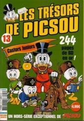 Picsou Magazine Hors-Série -13- Les trésors de picsou - Castors Juniors