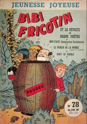 Bibi Fricotin (3e Série - Jeunesse Joyeuse) -78- Bibi Fricotin et la révolte du grand prêtre