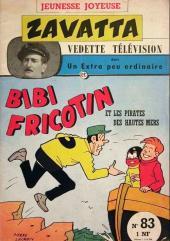 Bibi Fricotin (3e Série - Jeunesse Joyeuse) -83- Bibi Fricotin et les pirates des hautes mers