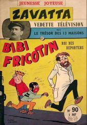 Bibi Fricotin (3e Série - Jeunesse Joyeuse) -90- Bibi Fricotin roi des reporters