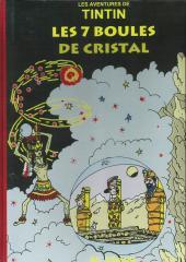 Tintin - Pastiches, parodies & pirates -17- Les 7 boules de cristal