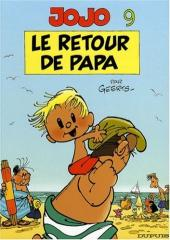 Jojo (Geerts) -9b- Le retour de papa
