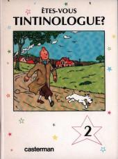 Tintin - Divers -41b- Êtes-vous tintinologue ? (2)