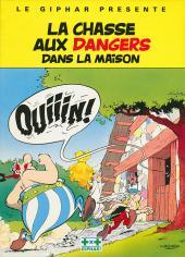 Astérix (Publicitaire) -Giph01- La chasse aux dangers dans la maison