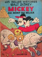 Les belles histoires Walt Disney (1re Série) -50- Mickey au mont du bélier