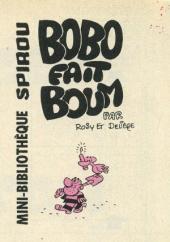 Bobo -MR1576- Bobo fait boum