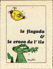 Le flagada -23MR1608- Le Flagada & le Croco de l'île