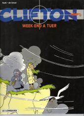 Clifton -8c02- Week-end à tuer