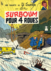 Gil Jourdan -6b85- Surboum pour 4 roues