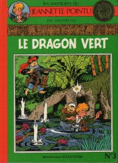 Couverture de Jeannette Pointu -3- Le dragon vert