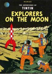 Tintin (The Adventures of) -17b02- Explorers on the Moon