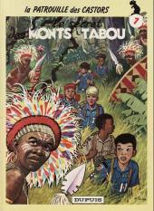 La patrouille des Castors -7d- Le secret des Monts Tabou