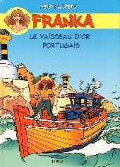 Franka (BD Must) -14- Le Vaisseau d'or portugais