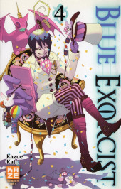 Blue Exorcist -4- Tome 4