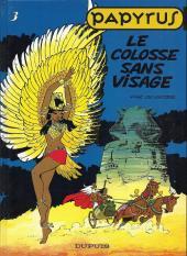 Papyrus -3b- Le colosse sans visage
