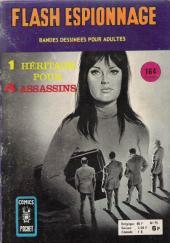 Flash espionnage (1re série - Arédit) -75- Un héritage pour 4 assassins