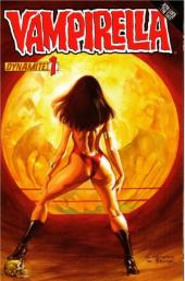 Vampirella (2010) -1B- Crown of worms part 1 : red right hand