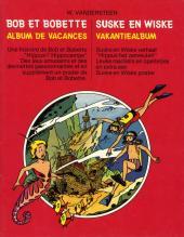 Bob et Bobette (Publicitaire) -Sma- Album de vacances