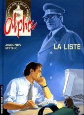 Alpha -4a2010- La liste