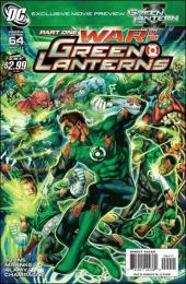 Green Lantern (2005) -64- War of the green lanterns part 1