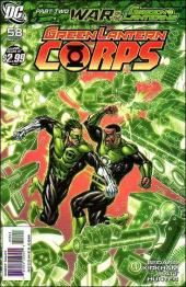 Green Lantern Corps (2006) -58- War of the green lanterns part 2