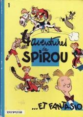 Spirou et Fantasio -1c1972'- 4 aventures de Spirou ...et Fantasio