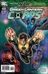 Green Lantern Corps (2006) -59- War of the green lanterns part 5