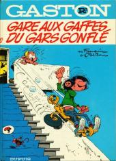 Gaston -R3 81- Gare aux gaffes du gars gonflé