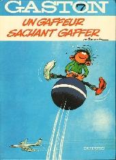 Gaston -7a1981- Un gaffeur sachant gaffer
