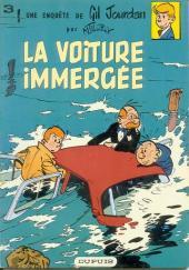 Gil Jourdan -3b1983- La voiture immergée