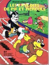 Pif Poche Spécial -1- Les exploits de Pif et Hercule vive le sport