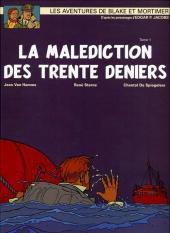 Blake et Mortimer (France Loisirs) -19- La Malédiction des trente deniers - Tome 1