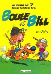 Boule et Bill -7e90- Album N° 7 des gags de Boule et Bill