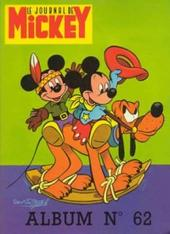 (Recueil) Mickey (Le Journal de) (1952) -62- Album 62 (n°1142 à 1154)