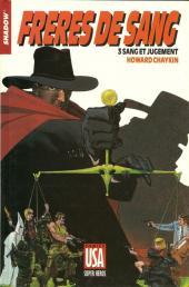 Super Héros (Collection Comics USA) -36- Shadow : Frères de sang 3/3 - Sang et jugement
