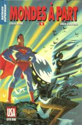 Super Héros (Collection Comics USA) -44- Batman/Superman 1/3 : Mondes à part