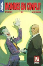 Super Héros (Collection Comics USA) -46- Batman/Superman 2/3 : Mondes en conflit