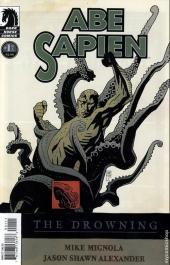Abe Sapien (2008) -1- The Drowning #1