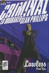 Criminal (2006) -10- Lawless #5/5