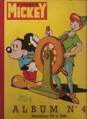(Recueil) Mickey (Le Journal de) (1952) -4- Album n°4 (n°79 à 104)