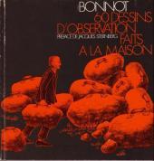 (AUT) Bonnot - 60 dessins d'observation faits à la maison