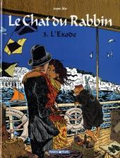 Le chat du Rabbin -3a- L'exode