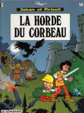 Johan et Pirlouit -14- La horde du corbeau