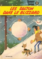 Lucky Luke -22a79- Les Dalton dans le blizzard