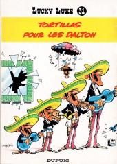Lucky Luke -31a81- Tortillas pour les Dalton