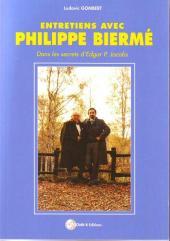 (AUT) Jacobs, Edgar P. -25TT- Entretiens avec Philippe Biermé - Dans les secrets d'Edgar P. Jacobs