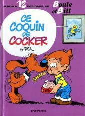 Boule et Bill -12c93- Ce coquin de cocker
