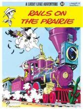 Lucky Luke (en anglais) -932- Rails on the prairie