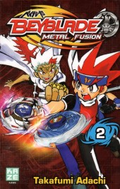 Beyblade Metal -2- Tome 2 / Metal Fusion