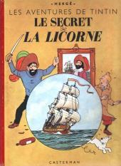 Tintin (Historique) -11B04- Le Secret de la Licorne